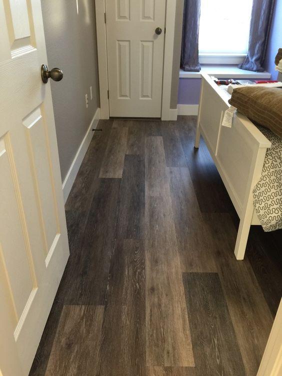 bedroom floor inspiration COREtec Plus 7  Alabaster Oak COREtec lvp luxuryvinylplank