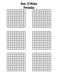 Free Math Worksheets Base 10 Blocks - crewton ramone s ...