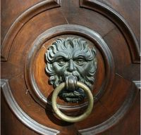 Charles Dickens' A Christmas Carol - door knocker | A ...