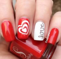 15 Easy Valentines Day Nail Designs for Short Nails