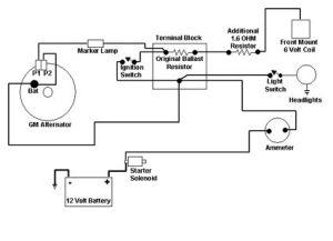 Ford 9N Electrical Diagram | 12v Conversion Diagrams