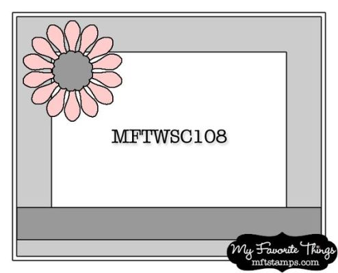 MFT Wednesday Stamp Club Sketch: