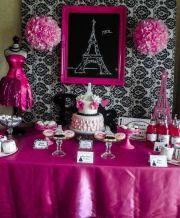 paris party birthday ideas