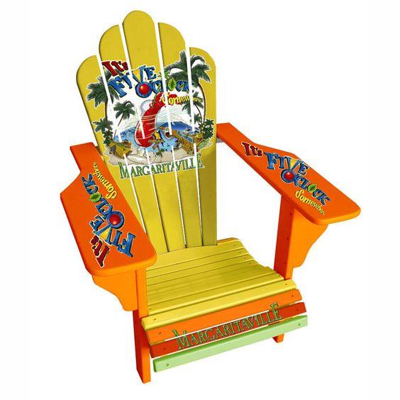 Our Original Margaritaville Deluxe Adirondack Chair