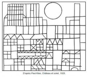 71 coloriages d'œuvres d'artistes peintres à imprimer
