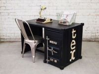 Industrial Shipping Container Office Desk Study Table ...