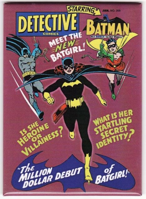Batgirl debut book