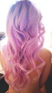 pastel hair mermaid style