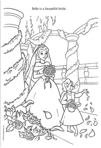 Wedding Wishes 11 by Disneysexual, via Flickr belle beauty