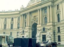 Hofburg Palace--Vienna, Austria - Actually the horses ...