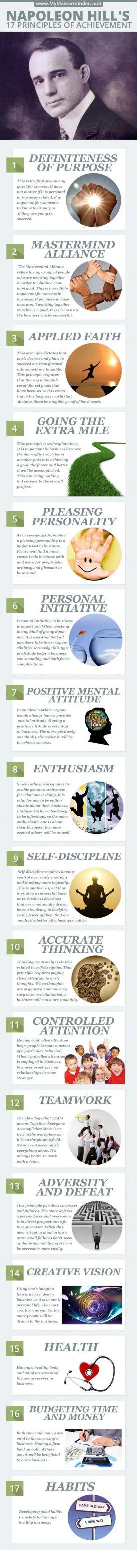 Napoleon Hill's 17 Principles of Personal Achievement: