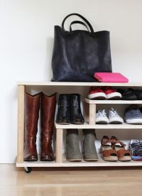 DIY Shoe Rack For the Entryway or Mudroom | Home ...