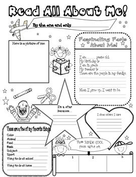 All about me poster, All about me and About me on Pinterest