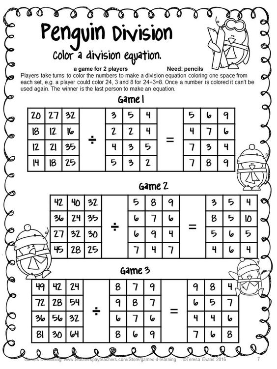 Multiplication and division, Math games and Math on Pinterest