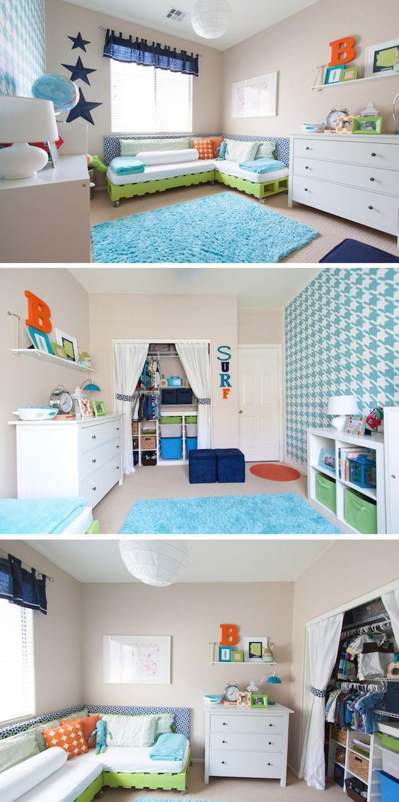 Toddler Boys Room Diy Budget Makeover  Boys, Houndstooth