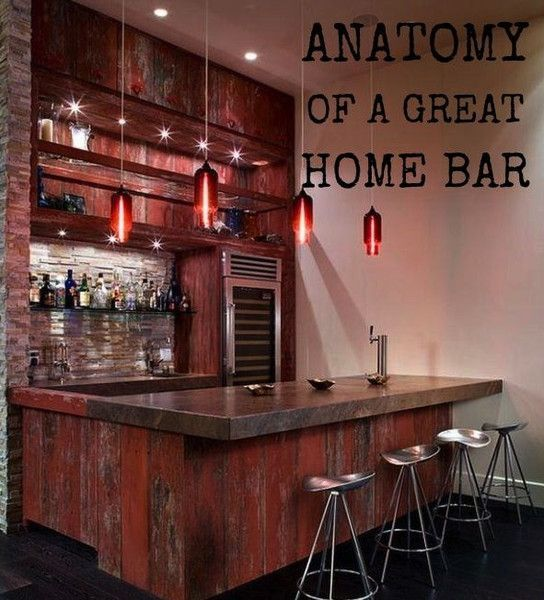 Anatomy of a Great Home Bar Essentials To Make Your Home