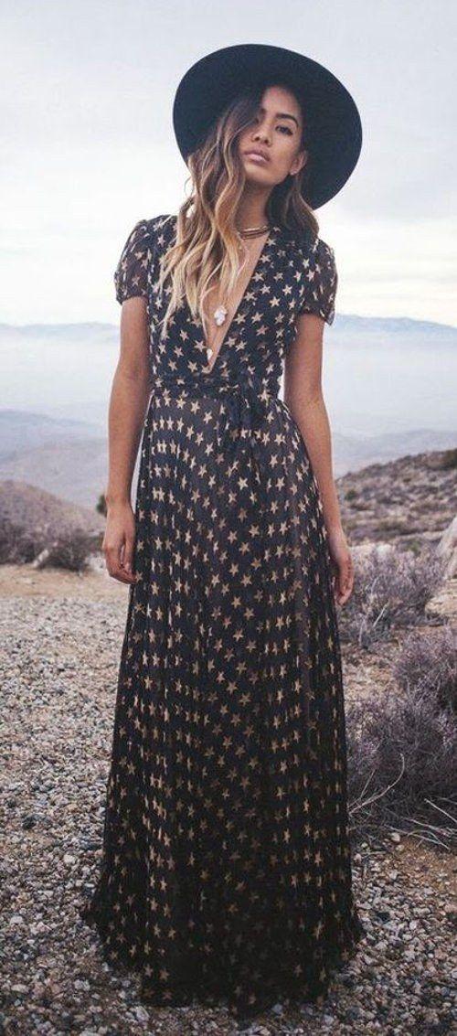 Maxi robe bohème