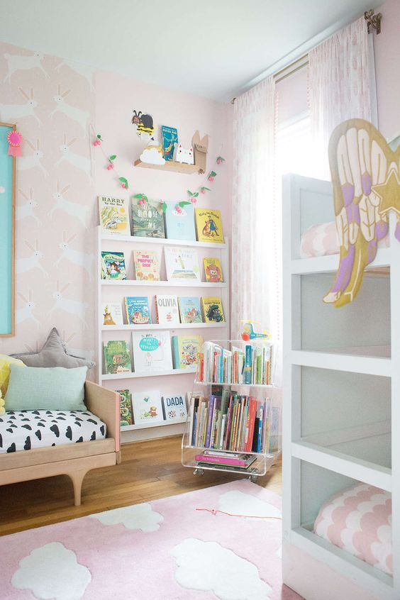 Girls Shared girls rooms and Girl rooms on Pinterest