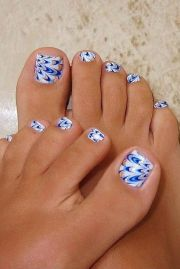 pretty toe nails nail design