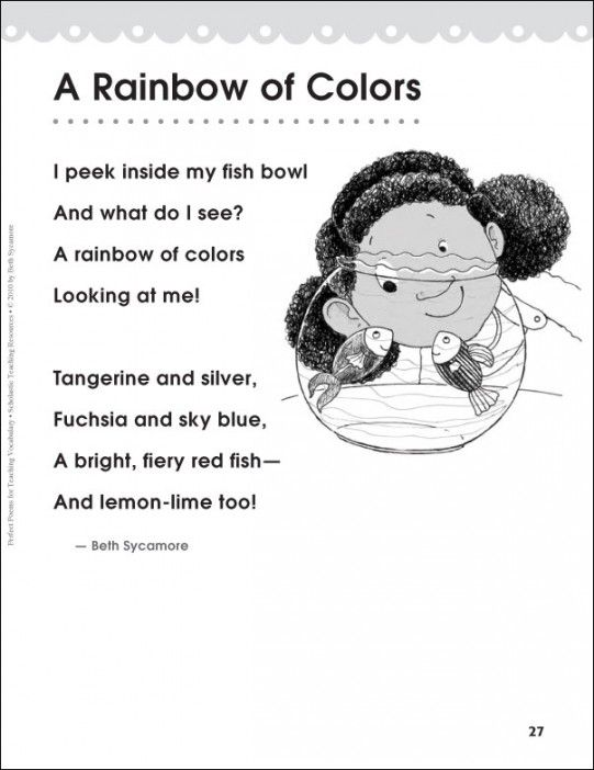 Colors, Poem and Poetry on Pinterest