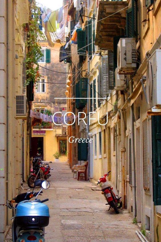 CORFU, GREECE a story by Julie Boyle on Steller: