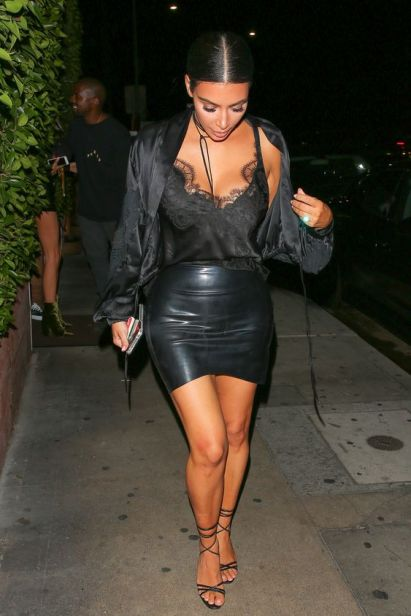 The perfect date night outfit with Kim Kardashian style!