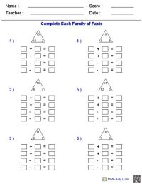 3rd Grade Beginning Division Worksheets