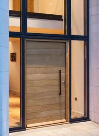 Wooden doors, Contemporary front doors and Doors on Pinterest