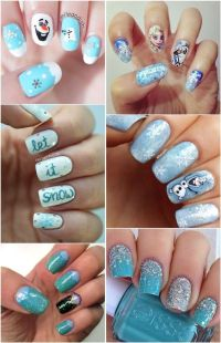 20 Amazing Frozen Nail Art Designs (with Tutorial ...