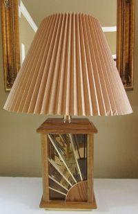 Vintage Mid Century Wood Glass Starburst Pattern Square ...