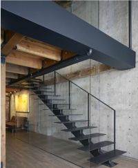warehouse-5-apartment-loft-conversion-metal-staircase ...