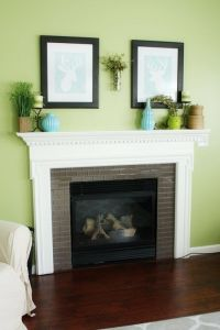 Behr Grass Cloth Green Living Room. This might just be the ...