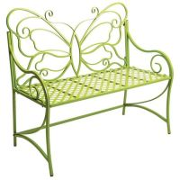 Butterfly garden bench (for my secret garden). | Fairy ...