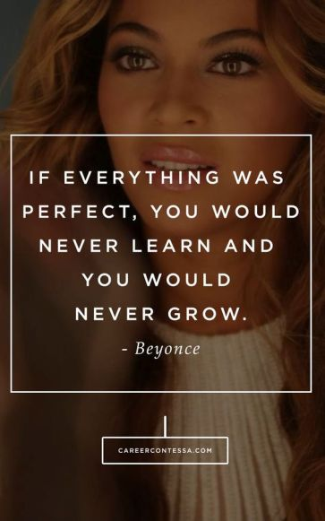 How are you daring to grow? #Beyonce #ContessaQuotes #InspirationalQuotes: