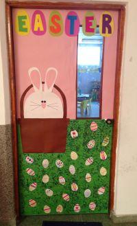 Easter school door decoration | My classroom! | Pinterest ...
