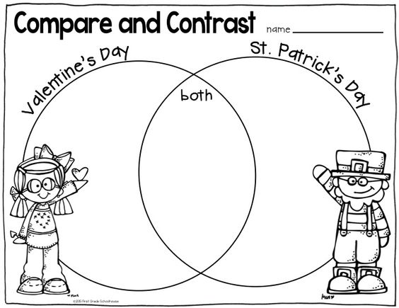 Patrick o'brian, Valentines and Compare and contrast on