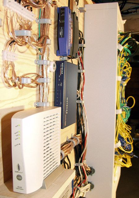 Structured Wiring Cabinet Media Center Pinterest