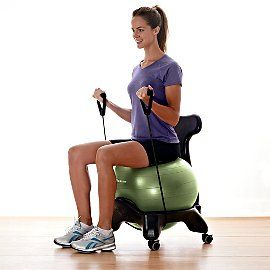exercise ball chair maybe for everyday use to improve