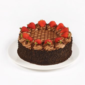 DOUBLE CHOC STRAWBERRY TORTE  Food and Drinks  Pinterest  Torte and Strawberries