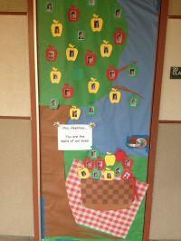 Teacher Appreciation Day door decorations- Picnic - Apple ...