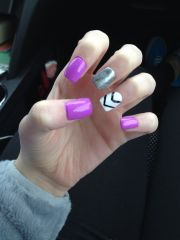 cute acrylic nails spring