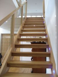 wooden stairs - Google Search | Ideas for the House ...