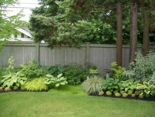Fence Line Landscaping Ideas The Gardening