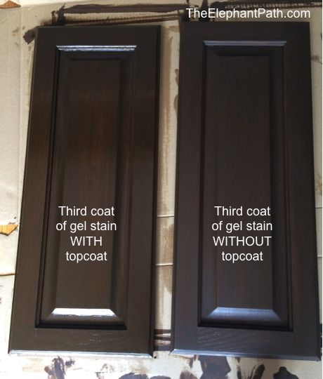 How to gel stain your bathroom cabinets  Vail  Pinterest