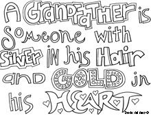 Grandfather quotes, Grandpa quotes and Quote coloring