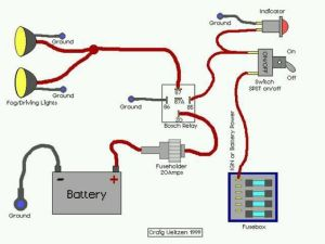 Wiring diagram for offroad lights | car accessories