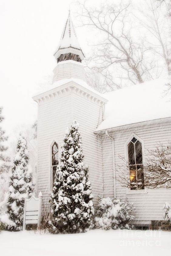 Church Winter White And Winter On Pinterest