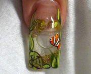 fish tank. nail check