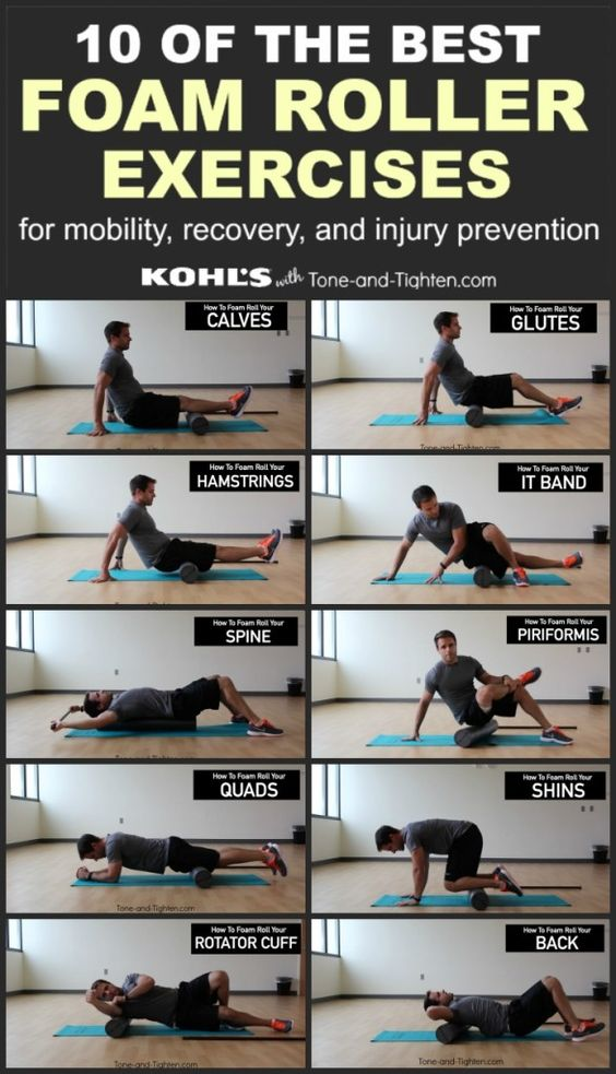Foam Rollers Rollers And Exercise On Pinterest