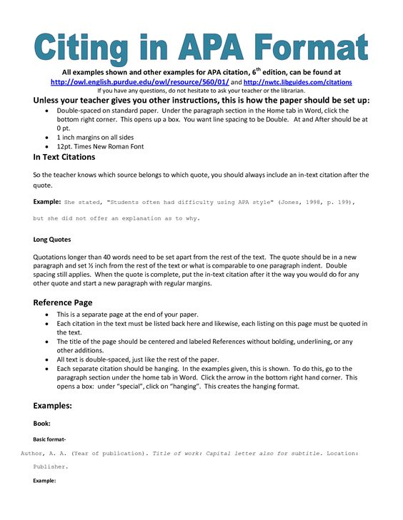 Apa Essay Paper Models Writing Papers And Artworks On Pinterest Apa
